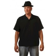 Charlie Sheen Shirt - Blank Pop Check Center - CU37044 - LAGERWARE