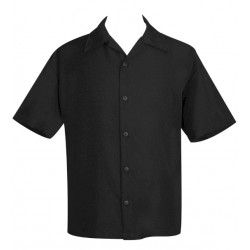 "Charlie Sheen Shirt ""POPLIN MINI PANEL"" Rot Schwarz - ST37055 - LAGERWARE"